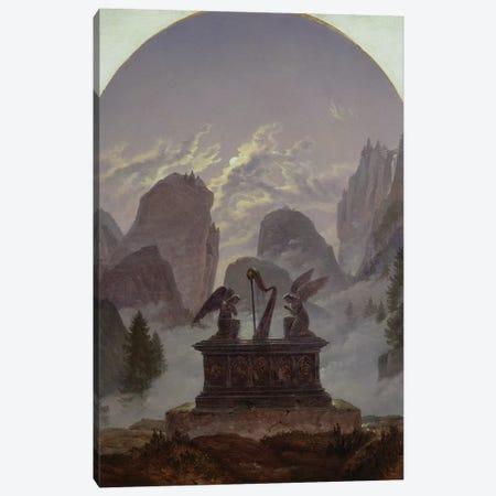 Goethe Monument  Canvas Print #BMN1897} by Karl Gustav Carus Canvas Art
