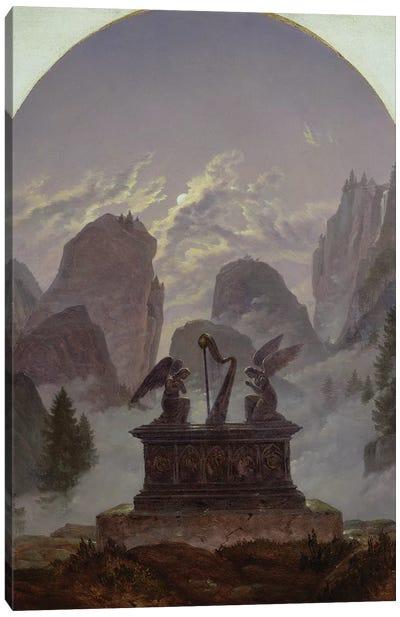 Goethe Monument  Canvas Art Print