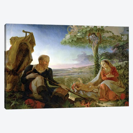 Rest on the Flight into Egypt, 1805-6  Canvas Print #BMN1898} by Philipp Otto Runge Canvas Print