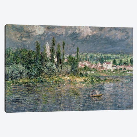 Landscape with a Thunderstorm  Canvas Print #BMN1900} by Claude Monet Canvas Print
