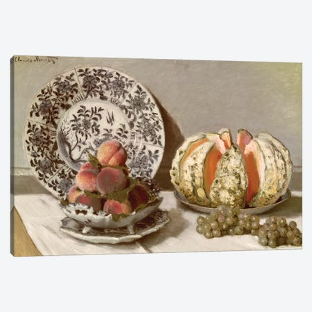 Still Life, 1872  Canvas Print #BMN1901} by Claude Monet Canvas Art Print