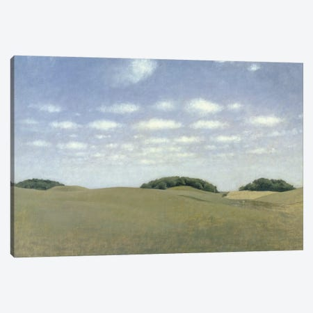 Landscape from Lejre, 1905  Canvas Print #BMN1903} by Vilhelm Hammershoi Canvas Print