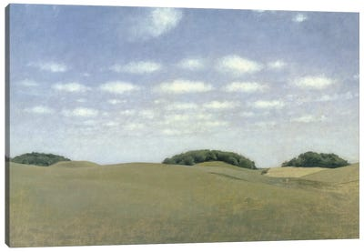 Landscape from Lejre, 1905  Canvas Art Print