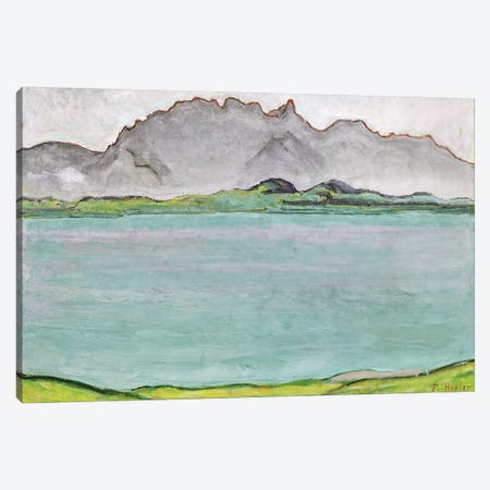 The Stockhorn Mountains and Lake Thun, 1911  Canvas Print #BMN1918} by Ferdinand Hodler Canvas Artwork