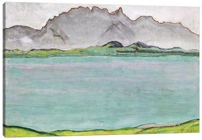The Stockhorn Mountains and Lake Thun, 1911  Canvas Art Print