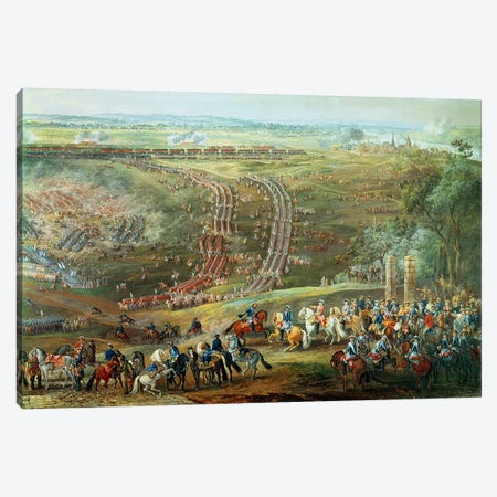 The Battle of Fontenoy, 11th May 1745   Canvas Print #BMN1923} by Louis Nicolas van Blarenberghe Art Print