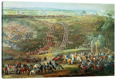 The Battle of Fontenoy, 11th May 1745   Canvas Print #BMN1923