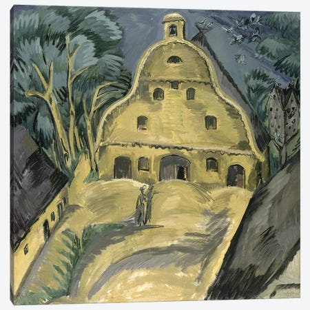 Staberhof Farm on Fehmarn I, 1913  Canvas Print #BMN1932} by Ernst Ludwig Kirchner Canvas Art