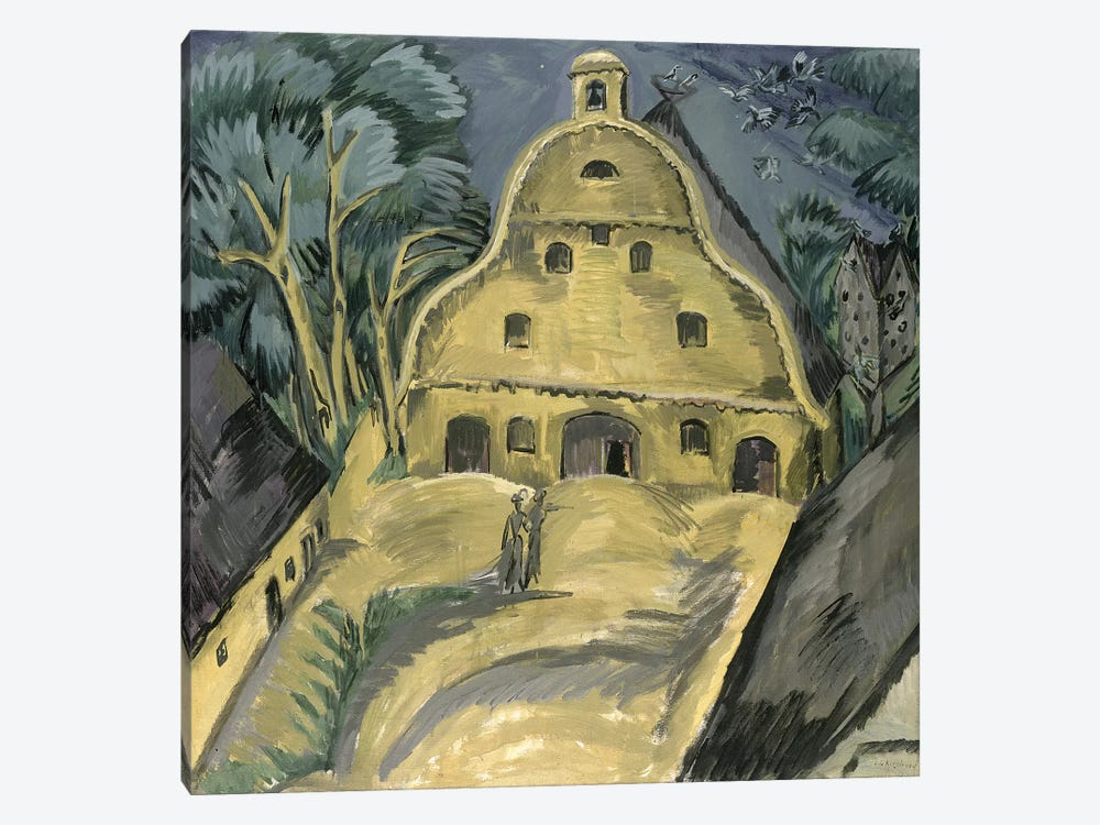 Staberhof Farm on Fehmarn I, 1913  by Ernst Ludwig Kirchner 1-piece Canvas Art