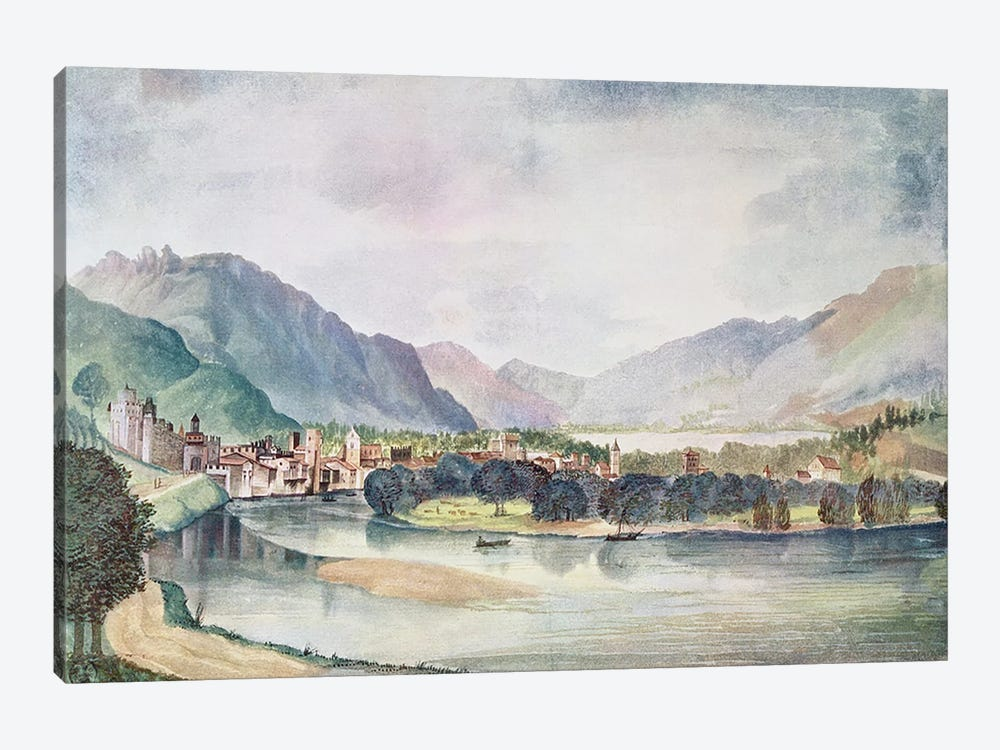 View of Trente, 1494  1-piece Canvas Print