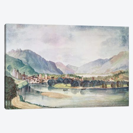 View of Trente, 1494  Canvas Print #BMN1933} by Albrecht Dürer Canvas Wall Art