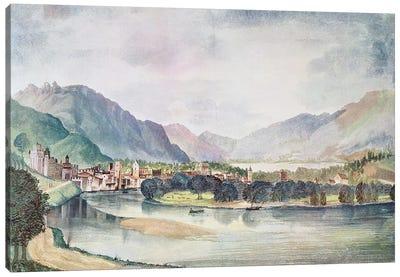 View of Trente, 1494  Canvas Art Print