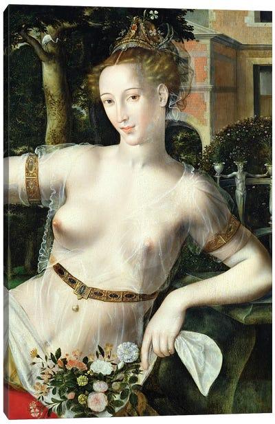 Detail of Flora, 1559   Canvas Art Print