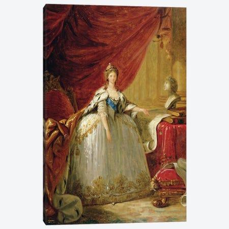 Portrait of the Duchess of Polignac  3-Piece Canvas #BMN1945} by Elisabeth Louise Vigee Le Brun Canvas Art