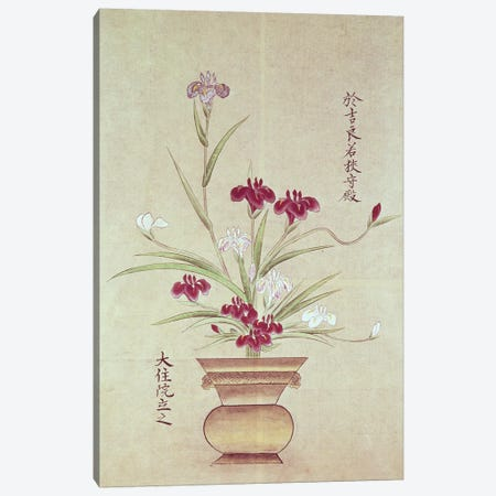 Orchids  Canvas Print #BMN1948} by Japanese School Canvas Art Print