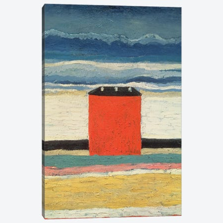 Red House, 1932  Canvas Print #BMN1950} by Kazimir Severinovich Malevich Canvas Artwork