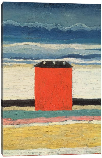 Red House, 1932  Canvas Art Print