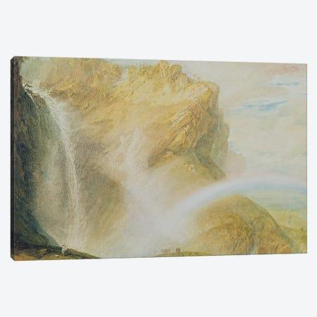 Upper Falls of the Reichenbach  Canvas Print #BMN1962} by J.M.W. Turner Canvas Art Print
