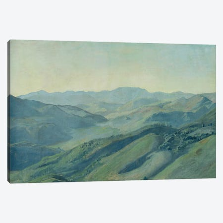 View of the countryside in the Tyrol, c.1842  Canvas Print #BMN1969} by Rudolph Friedrich Wasmann Canvas Art Print