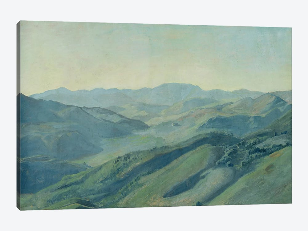 View of the countryside in the Tyrol, c.1842 by Rudolph Friedrich Wasmann 1-piece Canvas Artwork
