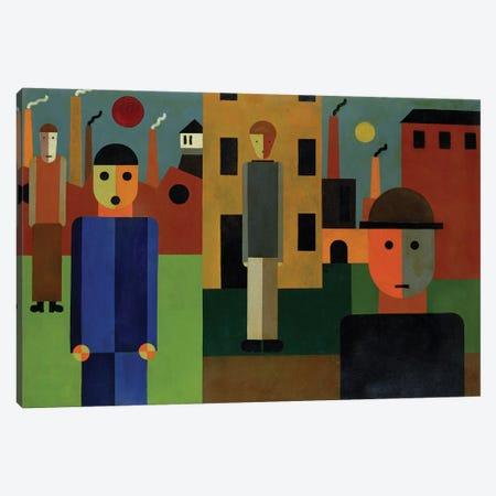 Factories, 1926  Canvas Print #BMN1977} by Franz W. Seiwert Art Print