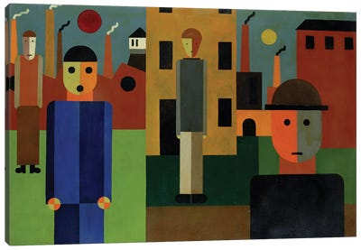Factories, 1926  Canvas Art Print