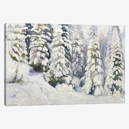 Winter Tale, 1913  Canvas Print #BMN1978} by Aleksandr Alekseevich Borisov Canvas Art