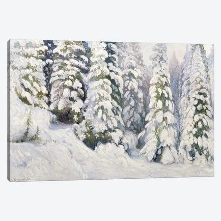 Winter Tale, 1913  Canvas Print #BMN1978} by Aleksandr Alekseevich Borisov Canvas Art