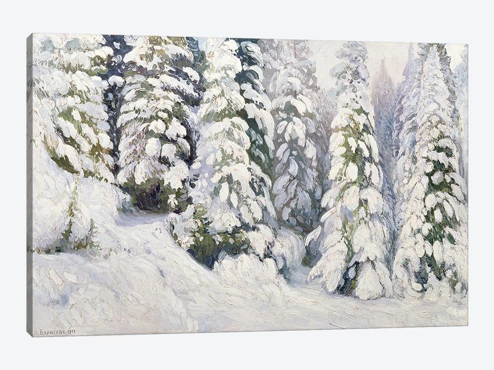 Winter Tale, 1913  by Aleksandr Alekseevich Borisov 1-piece Canvas Art