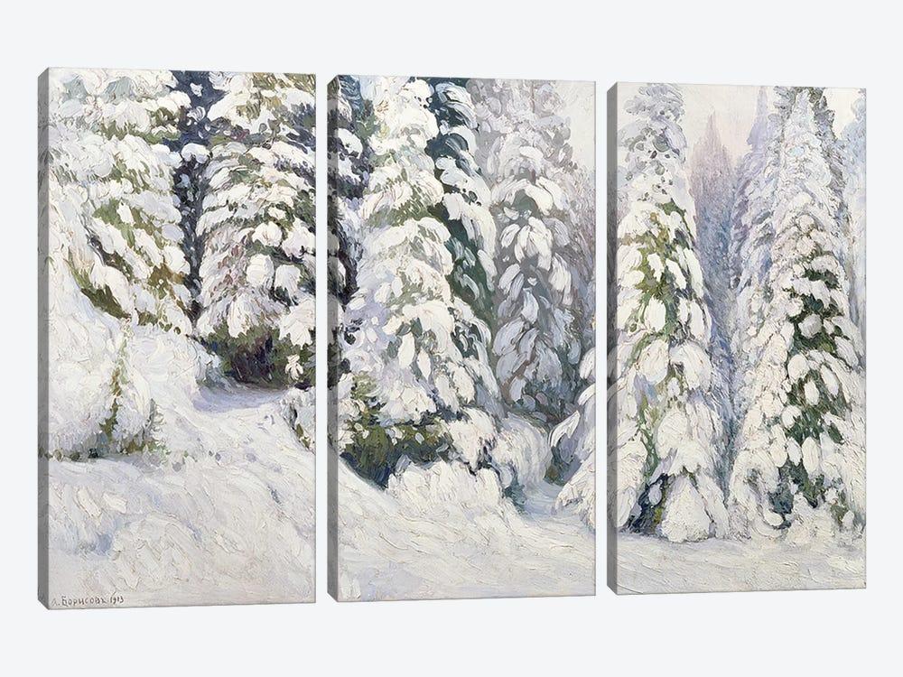 Winter Tale, 1913  by Aleksandr Alekseevich Borisov 3-piece Canvas Artwork