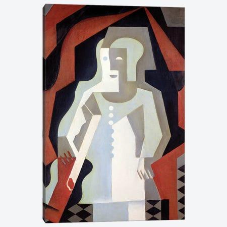 Pierrot, 1919  Canvas Print #BMN1989} by Juan Gris Art Print