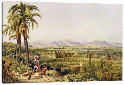 Pirara And Lake Amucu (The Site Of Eldorado), Twelve Views In The Interior Of Guiana, 1840 Canvas Art Print