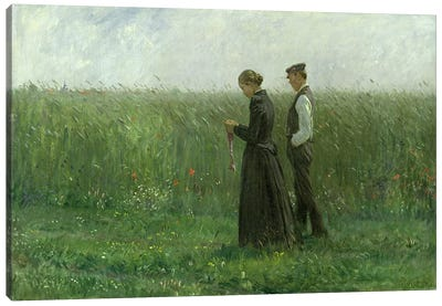 Sunday Afternoon, 1893  Canvas Art Print