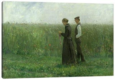 Sunday Afternoon, 1893  Canvas Art Print