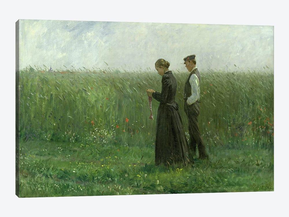 Sunday Afternoon, 1893  by Leopold Karl Walter von Kalckreuth 1-piece Canvas Art Print