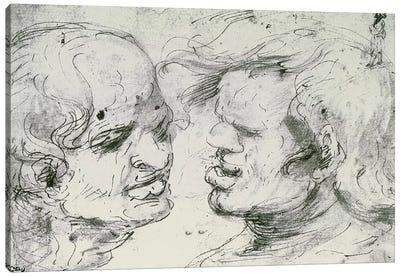 Two Heads  Canvas Print #BMN1992
