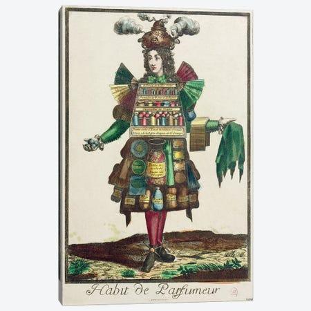 The Perfumer's Costume  Canvas Print #BMN1994} by Nicolas Bonnart Canvas Art Print