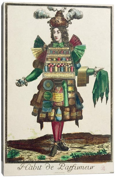 The Perfumer's Costume  Canvas Art Print