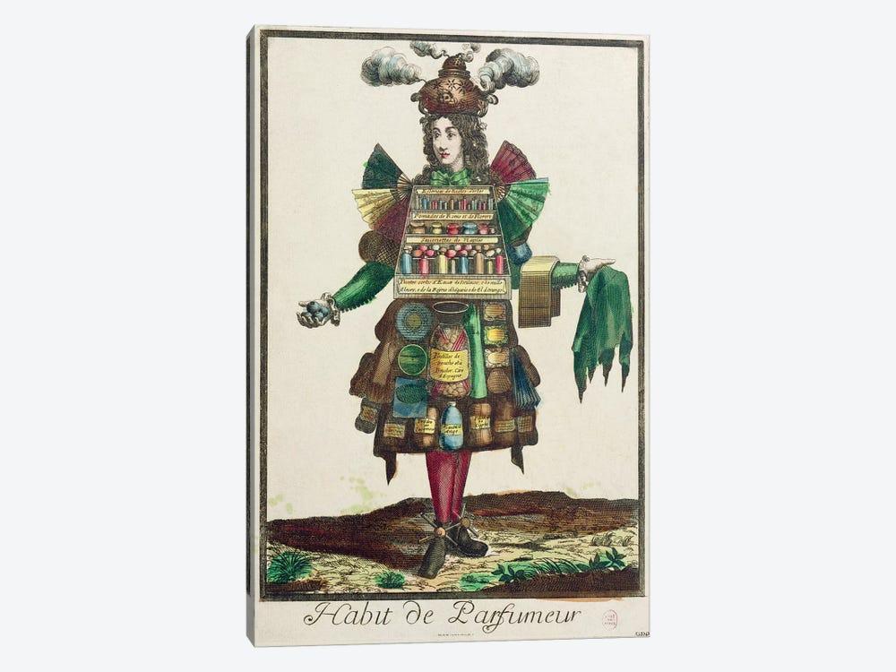 The Perfumer's Costume  by Nicolas Bonnart 1-piece Canvas Wall Art