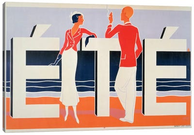 Ete, 1925 Canvas Art Print