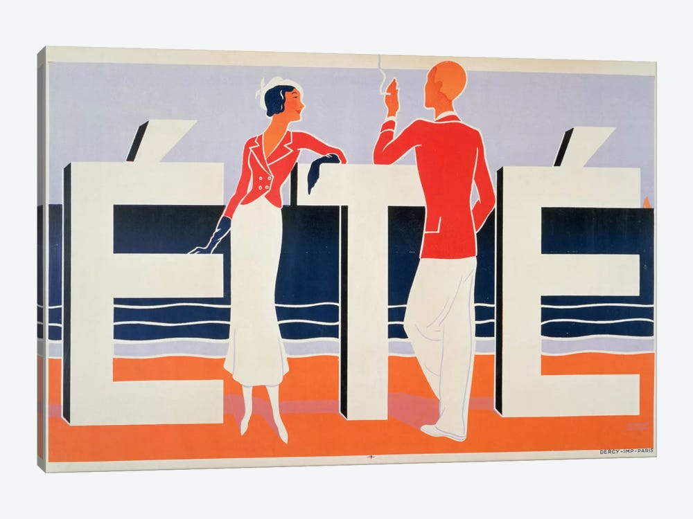 Ete, 1925 by M. E. Caddy 1-piece Art Print