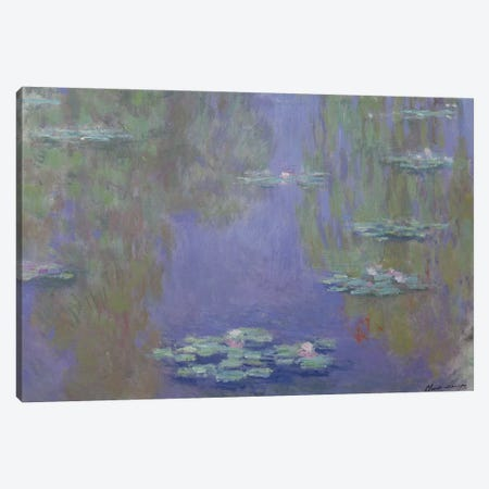 Waterlilies, 1903  Canvas Print #BMN2001} by Claude Monet Canvas Art