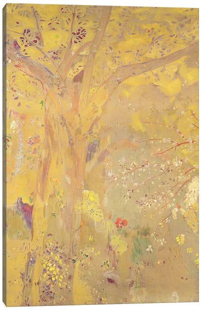 Yellow Tree  Canvas Art Print