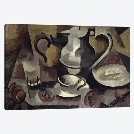 Still Life with Three Handles  Canvas Print #BMN2005} by Roger de la Fresnaye Canvas Art Print