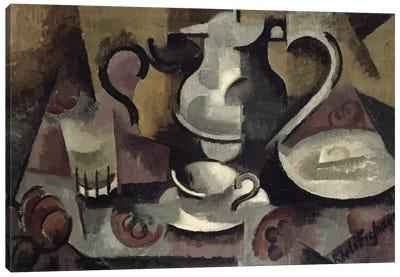 Still Life with Three Handles  Canvas Art Print