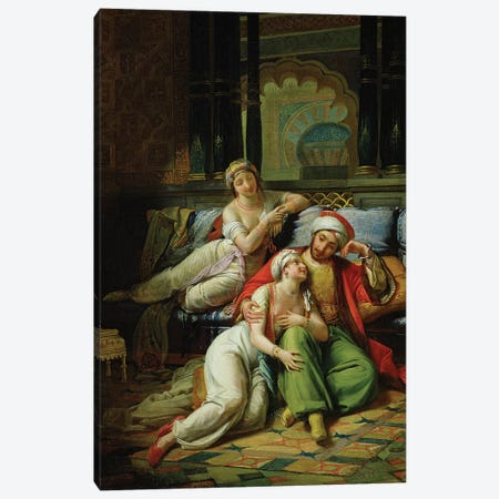 Scheherazade  3-Piece Canvas #BMN2009} by Paul Emile Detouche Canvas Art