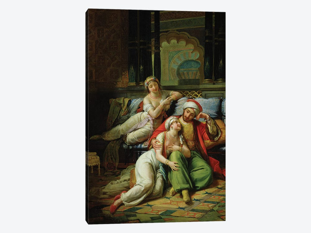 Scheherazade  by Paul Emile Detouche 1-piece Canvas Artwork