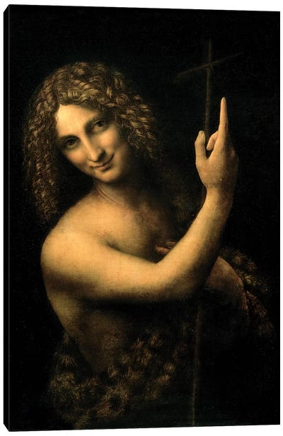 St. John the Baptist, 1513-16  Canvas Art Print
