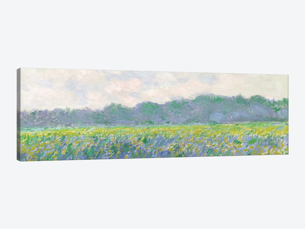 Field of Yellow Irises at Giverny, 1887  by Claude Monet 1-piece Art Print