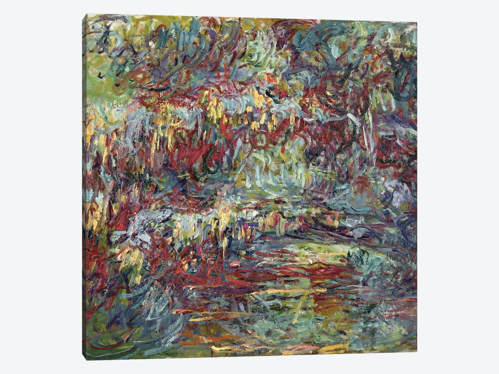 The Japanese Bridge at Giverny, 1918-24  by Claude Monet 1-piece Canvas Art